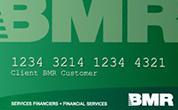 Carte de crédit BMR